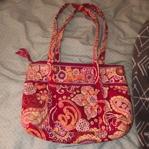 Two over the shoulder Vera Bradley bags